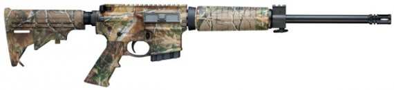 Smith & Wesson M&P15 300 Blackout Carbine 16″ 6 Pos Stock –  Realtree Cammo