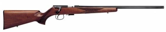Anschutz 1517 D HB Walnut Classic .17 HMR 23″ 4+1