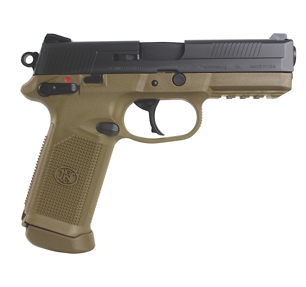 The Scopesmith The Gun Room— — FN 66964 FNX FNX-45 45 ACP 4″ 15 ...