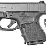 Glock G27 Gen 4 40 S&W 3.46″ 9+1 w/FS Black Synthetic Grip Matte Black