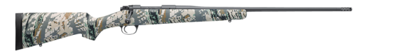 New For 2015! Kimber Mountain Ascent 270 WSM – 8400 Receiver – 24″ 3+1 Cammo Stainless Ultra Light with Muzzlebrake
