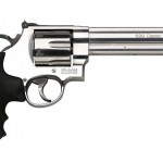 Smith & Wesson 163638 629 Classic 44 Mag 6.5″ 6rd Rubber Grip Matte Stainless Finish