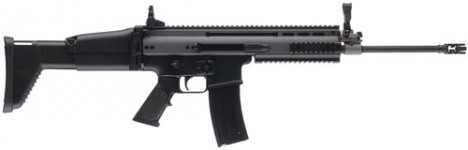 Back in Stock – One Unit! FN 98521 SCAR 16S SA 223 Rem/5.56 NATO 16.25″ 30+1 Adjustable Folding Stock BLACK