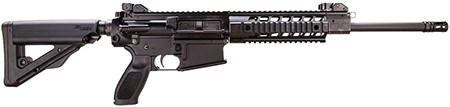 Back in Stock- Improved Fall of 2016 Edition! Sig Sauer WR71616BP 716 Patrol AR-10 LR-308 SA 7.62X51mm 16″ 20+1 Collapsible Stock Black