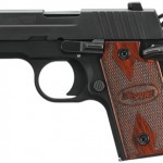 Sig Sauer 238380RG P238 Special Edition 380 ACP 2.7″ 6+1 Rosewood Grip Night Sights Nitron Black