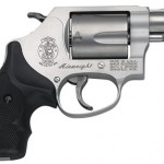Smith & Wesson 163050 637 Airweight 38 Special 1.87″ 5rd Synthetic Grip Matte Silver Finish