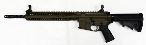 LWRC M6A2R5PBC16SPR Complete M6A2 5.56 SPR Cerakote Patriot Brown 16″ Helical Fluted SPR PISTON with Accessory Package