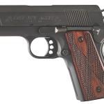 Colt O7810D  New Agent 45 ACP 3″ 7+1 Double Diamond Wood Grip Matte Black