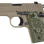 Back in Stock! Sig Sauer 238380SCPN P238 Scorpion 380 ACP 2.7″ 6+1 FDE Grip FDE