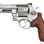 Smith & Wesson 160936 625 Jerry Miculek 45 ACP 4″ 6rd Wood Grip Adjustable Sight Stainless Finish