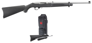 Back in Stock! Ruger 11100 K10/22TD 22LR TAKEDOWN 18.5″ 22LR with Carrying Case