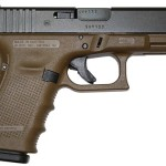 Back in Stock! Glock G19 Generation 4 9mm 4.02″ 15+1 FDE Synthetic Grip Blk
