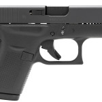 Back in Stock! Glock 42 – 380 ACP 3.25″ 6+1 FS Poly Grip/Frame Black