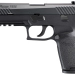 NEW! Sig Sauer P320 Full Size 9mm 4.7″ 17+1 Interchangeable Poly Grips Night Sights Black