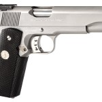 Back in Stock! Colt O5070X Gold Cup Trophy 45 ACP 5″ Match Grade 8+1 Black Rubber Grip Stainless Steel