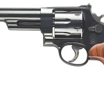 BACK IN STOCK! Smith & Wesson Model 57 150481 Classic 41Magnum 6″ 6rd Blued Square Butt Walnut Grips