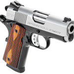 NEW! Springfield PI9240LP 1911 EMP 40 S&W 3″ 8+1 Cocobolo Wood Grips Black Frame/Stainless Steel Slide – Night Sights