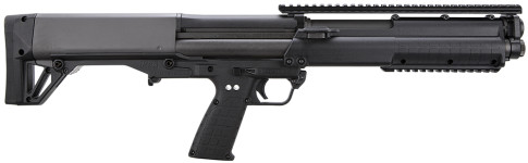 Back in Stock! Kel-Tec KSG Pump 12 ga 18.5″ 3″ Black Synthetic Black Finish