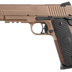Back in Stock! Sig Sauer 1911 Emperor Scorpion 45 ACP 5″ 8+1 G10 Black Garolite Grips LowPro Night Sights FDE Cerakote