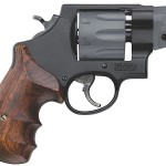 Back in Stock! Smith & Wesson 170245 Mod 327 Performance Center 357 Mag 2″ 8 rounds Wood Grip Black Finish