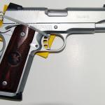 New! Nighthawk Custom TALON II CROME – Ambi -45 ACP – Carry Magwell