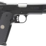 New! Wilson Combat CQBEFS45 CQB Elite 45 ACP 5″ 8+1 G-10 Diagonal Grip Black Armor-Tuff Finish – Fiber Optic