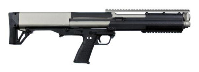 Back in Stock! KEL-TEC KSG Tactical Bullpup Shotgun 12GA 18.5″ 12RD Cerakote Titanium Two Tone