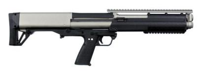 Back in Stock! KEL-TEC KSG Tactical Bullpup Shotgun 12GA 18.5″ 12RD Cerakote Titanium Two Tone