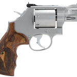 New! Smith & Wesson 1703476 Mod 686 7x Performance Center 357 Magnum 7 Rounds 2.5″ In Stainless Steel Wood Grips
