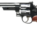 New! Smith & Wesson Mod 27 150341 Classic 357 Mag 6.5″ Blued 6rd  Checkered Square Butt Walnut Grip