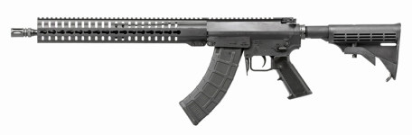 "Back in Stock – Latest Version! CMMG MK47 T ""Mutant"" 762X39 16.1″ 6-Position Stock – 30RD AK Mags BLK"