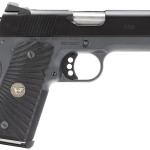 New! Wilson Combat BWCCP45 Bill Wilson Carry 45 ACP 4″ 7+1 G-10 Starburst Grip Black Armor-Tuff Finish – Fiber Optic Battlesight