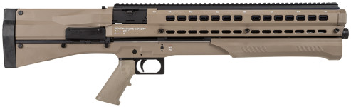 New! UTAS-USA PS1DC1 UTS-15 Desert Pump 12 Gauge 18.5″ 3″ 14+1 Synthetic Stock Desert Tan