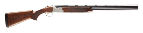 New! Browning CITORI 725 Feather Over and Under 12 gauge 28″ 3″ shells Invector-DS Choke Tubes Ivory Front & Mid-Bead Sights Accented Engraving High Relief Alloy receiver w/Silver Nitride Grade II/III Gloss Walnut Stock