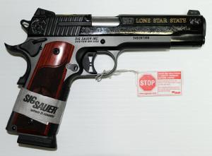 SIG 1911 Texas Gold 2