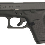 Back in Stock! GLOCK 43 9mm Subcompact 3.4″ 6+1 Fixed Sight Integral Grip Black – 2 Magazines
