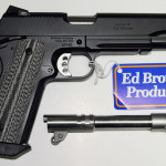 New! Ed Brown Special Forces Dual Fitted Barrels (Standard + Threaded) – 45 ACP – Ambi – Light Rail – Stainless Steel with G4 Black Coating