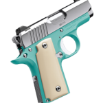 Back in Stock – Special Edition! Kimber Micro BEL AIR – 380 ACP – Bel Air blue Frame – Polished Stainless Slide – Ivory Micarta Grips