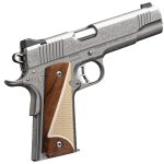 New for Summer of 2015! Kimber Stainless II – Classic Engraved Edition – 45 ACP – Walnut-Micarta Ivory Grips!