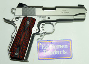 Ed Brown 9mm Snakeskin Ambi Right