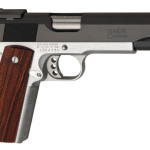 New for 2015! BACK IN STOCK! Les Baer BOSS 429 1.5 INCH GUARANTEE, 45 ACP 5 in Blue Slide, Hard Chrome Frame , Low-Mount LBC Adj Sight, Red Fiber Optic Front, Baer Premium Checkered Cocobolo Grips, 2 Mags