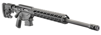 Back in Stock – New Lower Price! Ruger Precision Rifle 18008 (Enhanced Version) 6.5 Creedmoor – 24 inches 1:8 – MSR Folding Stock – Adjustable Trigger – Threaded – Hybrid Muzzlebrake – 20MOA Rail