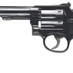 New! Smith & Wesson 150477 Model 17 Masterpiece Classic 22LR 6 inches Barrel – 6rd Blued – Checkered Wood Grip