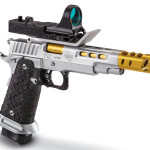 New! STI DVC OPEN 9 mm – Top of the line Race Gun – Hard Chrome – C More Sight – Two Magazines (20 and 26 rd)