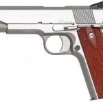 New! Limited Production Dan Wesson Razorback 10mm – 5 in Match Grade Barrel – 9+1 – Stainless Steel – Night Sights – Cocobolo Grips