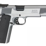 New! Les Baer HEMI 572 45 ACP 5 in Hard Chrome, Double Serrated Slide, Ambi, VZ Black Recon Grips Adjustable Sights with Fiber Optics, 2 8rd Mags