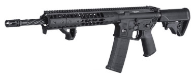 New – Back in Stock! LWRCI-DI Direct Impingement 16in 30+1 – Spiral Fluted – Collapsible Stock BLACK