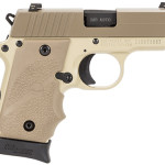 New! Sig Sauer P238 DESERT – 380 ACP 2.7 inches 7+1 Night Sights – Desert Tan Grip Light Tan Frame Desert Tan Slide