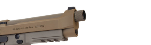 Beretta 92 FDE Removable-front-dovetail-sight