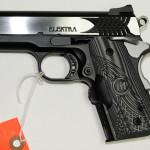 New! STI Pistol 3.0 ELEKTRA 45 BLACK – Stainless Slide – Black Alloy Frame -Crimson Trace Master Series Laser Grips – 6+1 rd